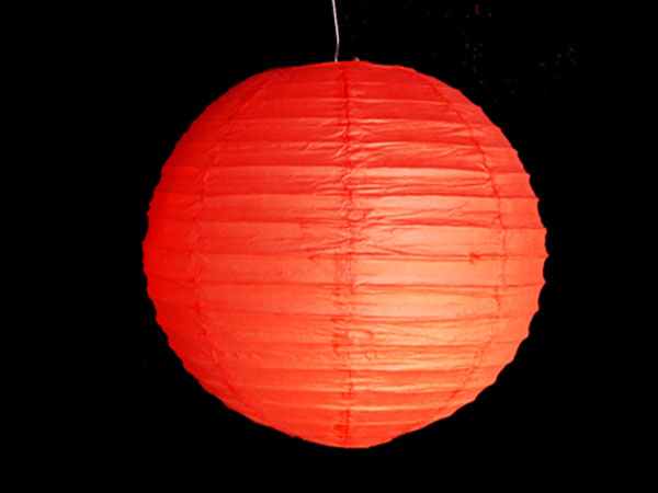 Lampion rot gross